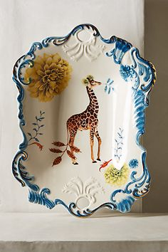 Natural World Serving Tray #anthropologie