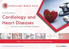28th World Congress on #Cardiology and #Heart_Diseases November 05-06, 2018, Amsterdam, Netherlands Amsterdam Netherlands, World Congress, Cardiology, Engineering, Conference, Heart Disease, November, Science, Technology