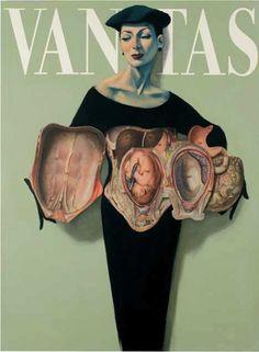 Anatomy by Fernando Vicente Vanitas: Maternidad Anatomy Art, Human Anatomy, Medical Illustration, Illustration Art, Vanitas Vanitatum, Medical Art, A Level Art, Gcse Art, Science Art