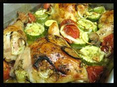 Baked Chicken with Vegatables