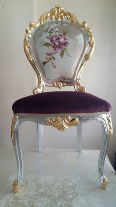 Small Armchair For Bedroom Info: 4 Chic Furniture, Funky Furniture, Beautiful Furniture, Paint Furniture, Furniture Makeover, Vintage Furniture, Victorian Furniture, Home Decor Furniture, Upholstered Chairs