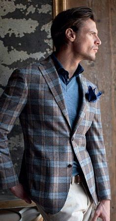 https://www.facebook.com/stylowymen/photos/np.1429168048279885.100004290842822/829156647121208/?type=1 #Blazer #Cuadros #Plaid