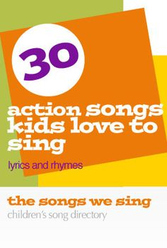 Here is a collection of the the best action songs on the web from the best and biggest websites for children's song lyrics, including Kididdles.com, MakingMusicFun.net, and BusSongs.com. A-F Arabel…