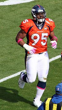 Darrell Reid is an American football linebacker who is currently a free agent of the National Football League. He was signed by the Indianapolis Colts as an undrafted free agent in 2005 and played college football for the Gophers.