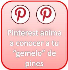 "Pinterest anima a conocer a tu ""gemelo"" de pines"