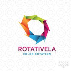 Logo FOR SALE!!! Abstract, bright, colorful logo.   Possible uses  Any business contact@thracianweb.com www.thracianweb.com