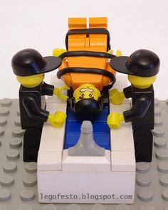 Lego waterboarding