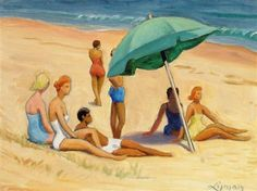 John Goodwin Lyman, Group on Provincetown Beach Matisse, Provincetown Beach, Modern Art, Contemporary Art, Group Of Seven, Artist Biography, Canadian Art, North Africa, Art Auction