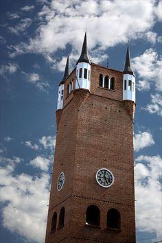 Torre do Relógio da Villa General Belgrano, a 88 km de Córdoba, na Argentina