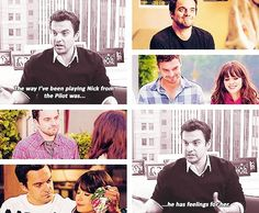 It's always been Jess and Nick. New Girl