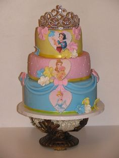 Princess cake I can't wait to have a little girl so I can make all her cakes