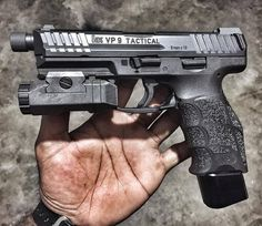 HK VP9 Tactical Save those thumbs & bucks w/ free shipping on this magloader I purchased mine http://www.amazon.com/shops/raeind No more leaving the last round out because it is too hard to get in. And you will load them faster and easier, to maximize your shooting enjoyment. loader does it all easily, painlessly, and perfectly reliably