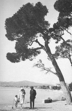 Familie Shapiro in Cannes, Sommer 1935