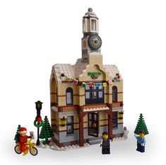Hi everyone! Even though I've seen a lot of fantastic entries allready, I would like to present to you my entry for the Expand the Winter Village contest, t...