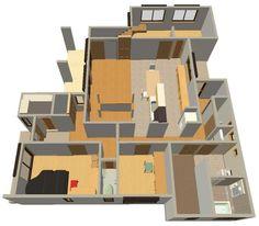 パース図を作ってみた 2020 画像あり パース 平面図 いい 家
