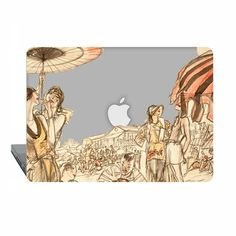 Clear Macbook Pro 15 touch bar 2016 Case summer by ModMacCase