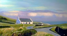 "Saatchi Art Artist Andrew Francis; Painting, ""Capel Y Mwnt"" #art"