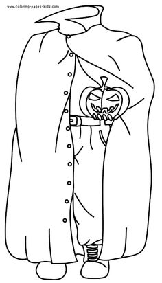 headless horseman halloween color page holiday coloring pages color plate coloring sheet - Headless Horseman Coloring Pages