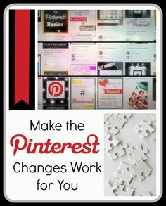 A look at ways to make the new Pinterest changes work for you and your social media marketing goals | OhSoPinteresting.com