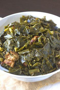 Southern Collard Greens Recipe Pinterest | https://pinterest.com/elcocinillas/