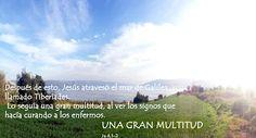 EVANGELIO DE JUAN: UNA GRAN MULTITUD  Ju 6,1-2