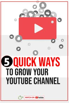 If you are not growing your YouTube channel as fast as you would like, follow these 5 actionable steps to grow your #YouTube channel fast. #YouTubeGrowth #YouTubeSubscriber Youtube Hacks, You Youtube, Youtube Secrets, Marketing Software, Online Marketing, Marketing Tools, Application Utile, Start Youtube Channel, Making Money On Youtube