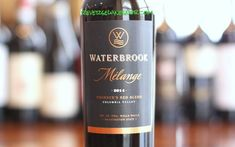 Another great example of the amazing value to be found in Washington wine for right around $10. Reverse Wine Snob reviews the Waterbrook Melange Founder's Red Blend. A blend of Merlot, Cabernet Sauvignon, Cabernet Franc, Sangiovese, Petit Verdot, Syrah, Zinfandel and Tempranillo from Columbia Valley, Washington.