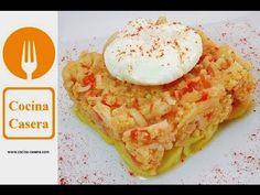 Huevos escalfados caseros. Receta fácil y Vídeo | Recetas de Cocina Casera - Recetas fáciles y sencillas