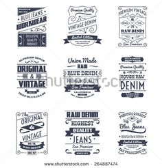 stock-vector-classical-denim-jeans-typography-logo-emblems-limited-edition-graphic-design-icons-collection-black-264887474.jpg (450×470)