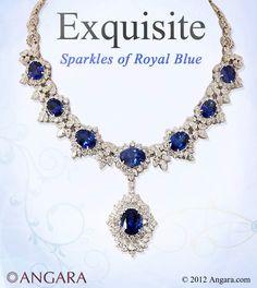 tanzanite necklace, tanzanite necklace, tanzanite necklace, tanzanite necklace. #angara #necklace