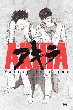 Akira, Kaneda and Tetsuo poster by MarioRedsigns on DeviantArt