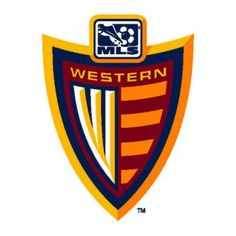 MLS Western Division Shield Logo