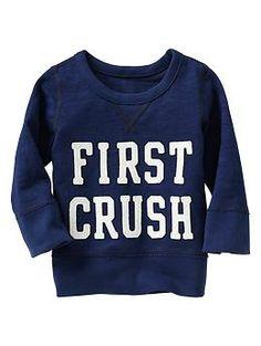 Lover boy crewneck pullover