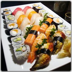 Thaicoon & Sushi Bar, Marietta Square. Very good quality sushi.  Great sushi chefs.