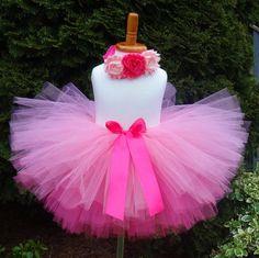 Pink Tutu/Tutu/Hot Pink Tutu/Pink Birthday by TheCheekyCrows