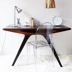 love the table and ghost chair