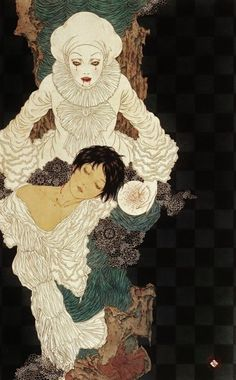 Art illustrations by Takato Yamamoto - 'Vampire clown. Arte Horror, Horror Art, Art And Illustration, Art Illustrations, Arte Inspo, Kunst Inspo, Ero Guro, Yamamoto, Tag Art