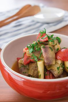 Eggplant and Tomato Salad Recipe | Fresh Tastes Blog | PBS Food