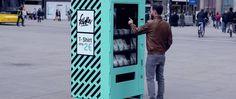 Brillante vending machine para ayudar a las mujeres de Bangladesh