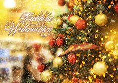 Fröhliche Weihnacht überall | Frohe Weihnachten | Echte Postkarten online…