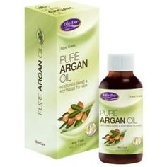 """Life-flo Pure Argan Oil: A rich source of Vitamin E and essential fatty acids. A """"super food"""" for the skin and hair commonly referred to as """"The Gold of Morocco"""". It is cold pressed and organically grown traditionally used by women in Morocco to counteract the effects of aging on hair, skin and nails."""