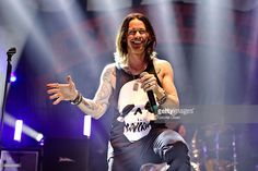 Myles Kennedy performs at Slash featuring Myles Kennedy and the Conspirators at The Hollywood Palladium on October 23, 2015 in Los Angeles, California.
