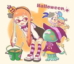 Splatoon Happy Halloween