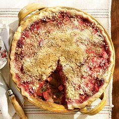 Raspberry-Rhubarb Pie