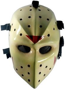 JASON HOCKEY MASK,Airsoft Hockey mask,Heat mask,Goalie mask,Goalie masks,Goaltender masks,Airsoft face mask,Paintball masks,Paint ball mask,Army of two airsoft mask,Masks paintball,mask,bb gun. From #D.I.Y Mask Mo