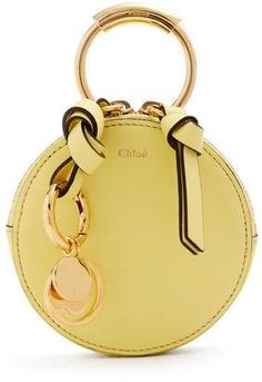 e0dd8c73ed5f Chloé Round mini leather coin purse Longchamp