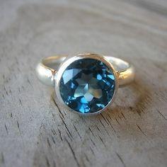 London blue topaz. Sooo beautiful! $198.00