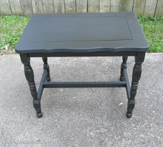 Over 30 re-purposed table projects. Don't throw that table out, refinish it.