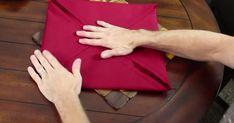 Voici 9 façons de plier les serviettes de table en tissu ou de papier!