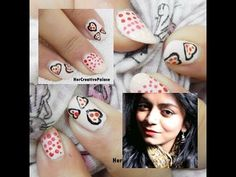 Valentine's Day Special in collaboration with Mermaid Bidisha. Check out the simple and last minute Valentine's Day nail art tutorial on my channel here: http://youtu.be/UP_F5uJjagU